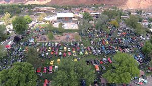 Carshow Show weekend Aerial Photo Dylan Beck